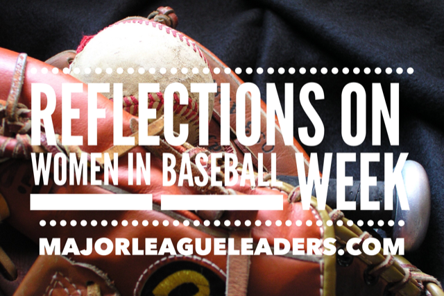2019 Reflections on Women in Baseball Week