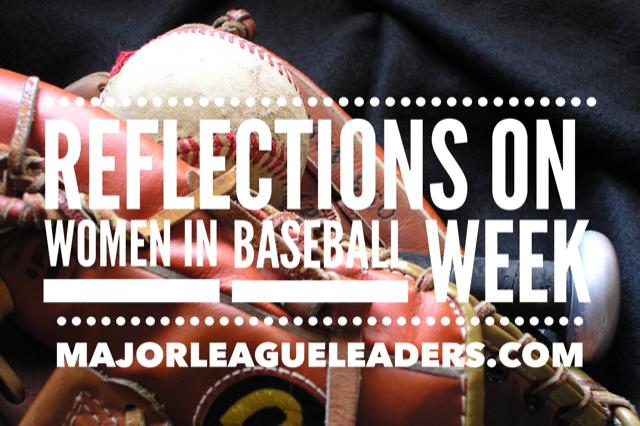 2019 Reflections on Women in Baseball Week