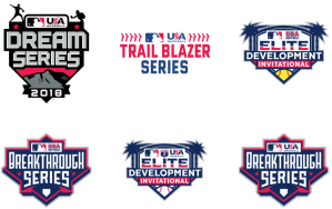 MLB Youth Player Development Series Logos